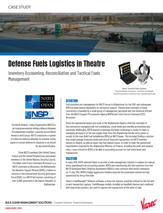 PRO146 Defense Logistics Case Study Cover