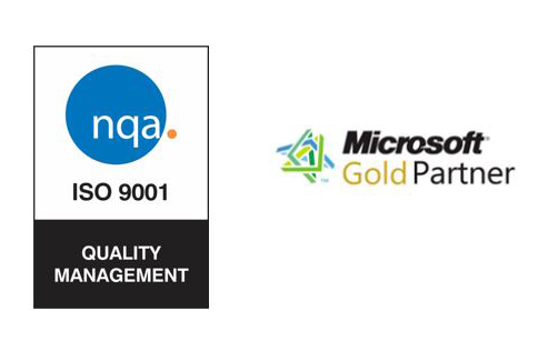 ISO 9000 and Microsoft Quality Logos