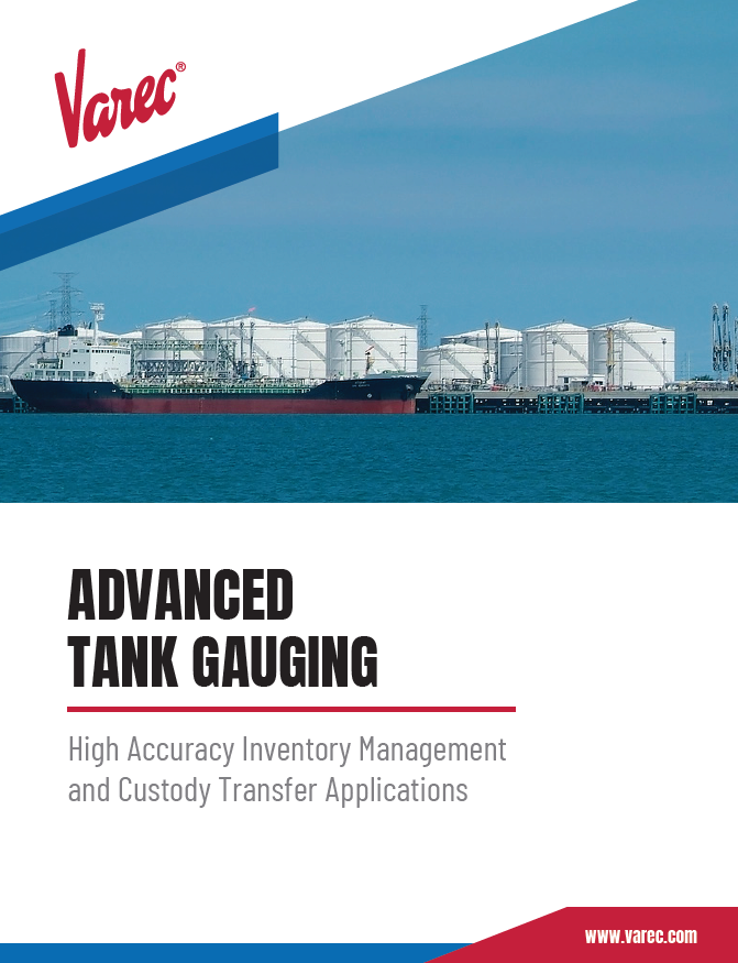 Advanced Gauging Brochure Cover