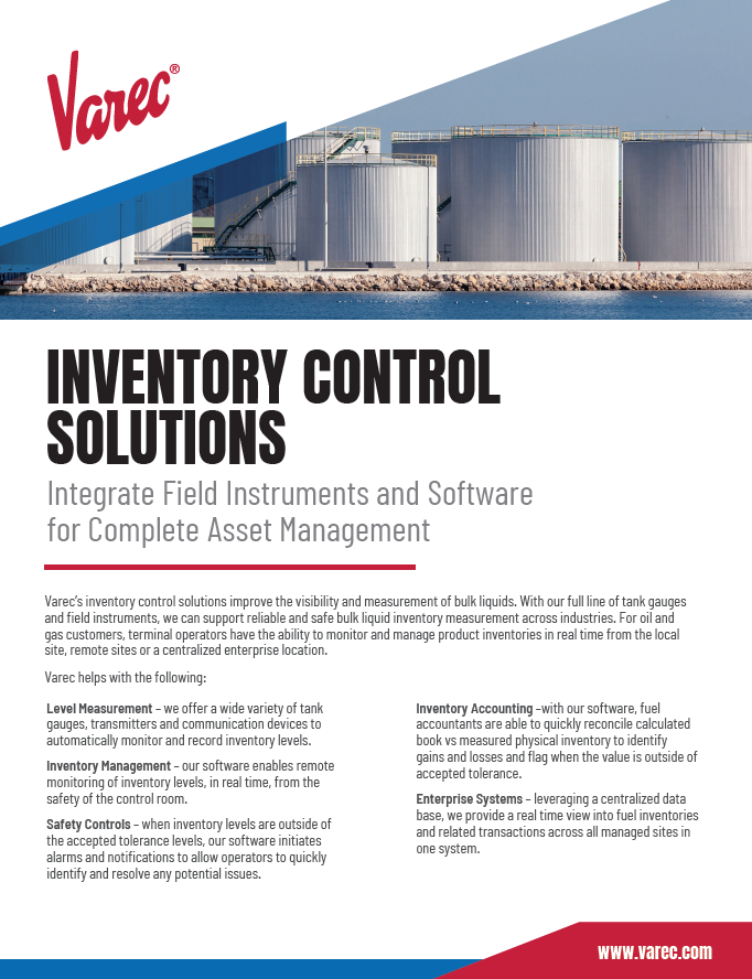 Inventory Control Solutions Cover