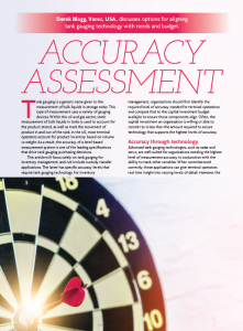 hydrocarbon engineering fall article - accuracy assessment