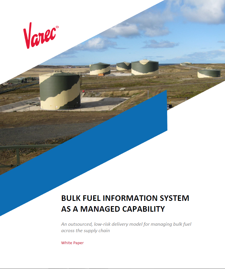 PRO155 Bulk Fuel Information System WP Cover