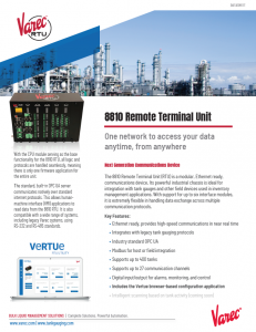 8810 Remote Terminal Unit