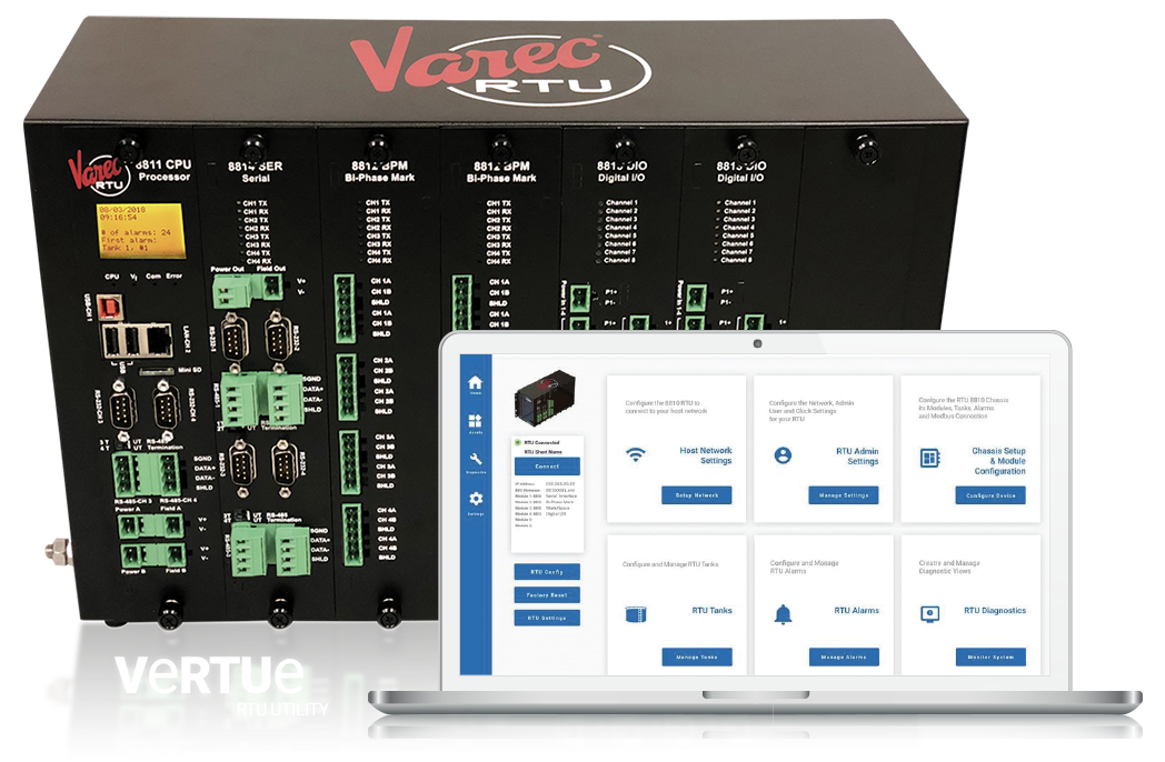 All New 8810 Remote Terminal Unit (RTU) for Bulk Liquid Management